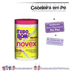 Creme Multifuncional Novex Tudo de Bom - Embelleze Liberado para No Poo,Low Poo e Cowash.