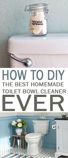 How to DIY the BEST Homemade Toilet Bowl Cleaner Ever