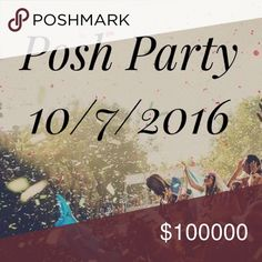 Posh Party! Tomorrow! Please join me Friday, October 7th from 7-9 PST while I host my first posh party! Theme TBA. Cover shots need to be creative and original, with clear photo quality! Posh compliant closets only. Have fun 😘.                          Cover 📸 courtesy of Pinterest Free People Other