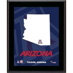"Arizona Wildcats Fanatics Authentic 10.5"" x 13"" Sublimated State Plaque - $29.99"