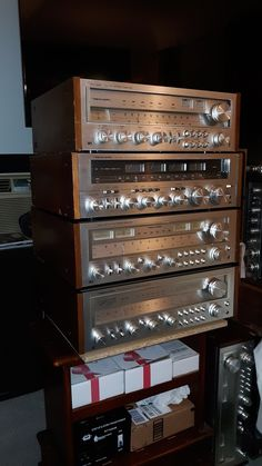 High End Audio, Yesterday And Today, Closet Doors, Wine Rack, Inventions, Liquor Cabinet, Electronics, Vintage, Home Decor