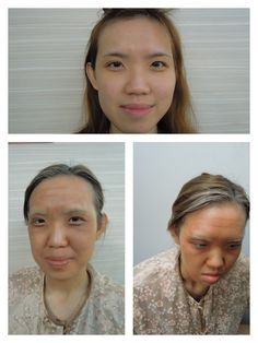Special effect - old aged makeup