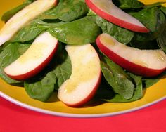 This salad is a good way to introduce healthy greens to kids.