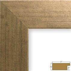 Craig Frames FM74DKW 11 by 14-Inch Rustic Photo Frame, Smooth Grain Finish, 2-Inch Wide, Dark Brown