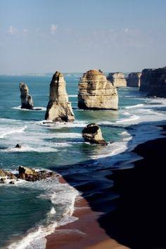 12 Apostles, Great Ocean Road. Melbourne, Australia.