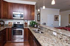 Kitchen in Willow Pond model #bishardhomes #virginiabeach