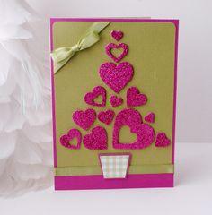 DIY I Heart Christmas Card from Spark and Chemistry Blog
