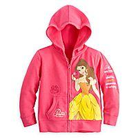 Belle Hoodie for Girls - Walt Disney World