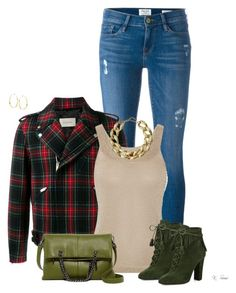 """Casual in the office"" by ksims-1 ❤ liked on Polyvore featuring Frame Denim, Gucci, Missoni, Giuseppe Zanotti, Sorial, Kenneth Jay Lane and Lana"