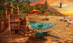 Gardens of Time | Rio Sand Castle