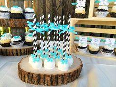 Rustic Black White Tiffany Blue Wedding Dessert Table Pinterest Weddings And Bridal Showers