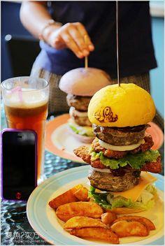 burger Taiwanese food