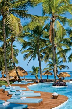 Two turquoise infinity pools are connected throughout the property by lagoons and waterways. Zoetry Agua Punta Cana All Inclusive (Punta Cana, Dominican Republic) - Jetsetter