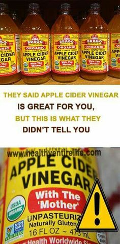 Read the next page, at the top, it's important, it has some disadvantages of Apple Cider Vinegar.
