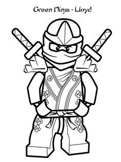 ninjago coloring pages | LEGO Ninjago Lloyd Coloring Pages