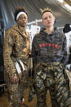 Sankuanz Spring 2018 Men's Fashion Show Backstage