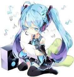 Vocaloid - chibi Hatsune Miku