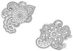Flower Script Doodle - Doodle is Art
