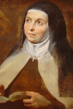 We need no wings to go in search for Him, but only to look upon Him present within us. St Teresa of Avila.