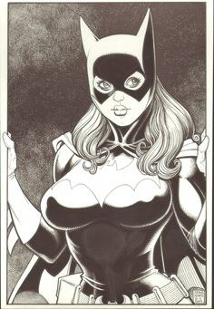 Batgirl by Art Adams Comic Art Comic Book Artists, Comic Book Characters, Comic Artist, Comic Character, Comic Books Art, Character Design, Comic Book Girl, Heros Comics, Comics Girls
