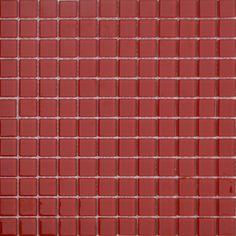 MOSAICOS DE CRISTAL: CRISTAL ROJO 30x30 cm