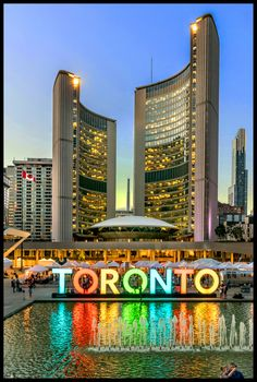 50th Birthday! Designed by Finnish architect Viljo Revell, Toronto City Hall opened in 1965 and is home to the municipal government of Toronto. Some may call it an icon. Toronto City Hall is the backdrop to the many cultural events which take place at Nathan Phillips Square. Nathan Phillips Square plays host to community gatherings, art installations and large concerts. Photo Roberto Portolese.