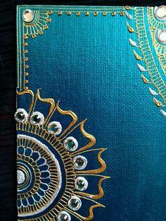 Mandala canvas - Henna canvas - Henna art - Canvas painting - Art painting - Mandala art - The Henna Canvas, Mandala Canvas, Mandala Art, Canvas Art, Henna Kunst, Henna Art, Dot Painting, Fabric Painting, Diy Wall Art