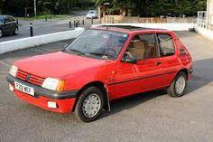 Mine was 205 Junior 1.9 Diesel in red