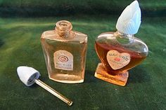 """Blue Waltz perfume, from the Five-and-Dime. A """"first perfume"""" for the young girls of the 30s-40s--and lots of older girls too."""