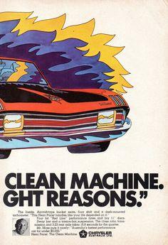 Vintage Cars, Vintage Auto, Chrysler New Yorker, Australian Cars, Clean Machine, Bucket Seats, Advertising Poster, Mopar, 1970s
