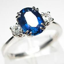 This is my ring! Just smaller diamonds on the sides but the same exact thing pretty much.