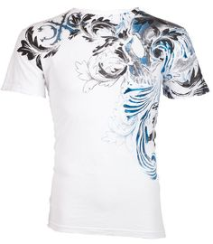 Xtreme Couture AFFLICTION Mens TShirt TELEPHUS Skull Tattoo Biker UFC M-3XL $40 #Affliction #GraphicTee