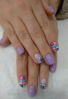 Morada Nail Art Designs, Christmas Decorations, Nails, Beauty, Album, Enamels, Purple Nail, Frases, Pretty Toe Nails