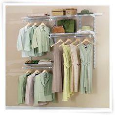 Image Result For Rubbermaid Closet Configuration Ideas