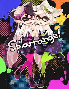 「冬コミ / ゲストイラスト」/「hatsuko」のイラスト [pixiv] #SquidSisters #Callie #Marie