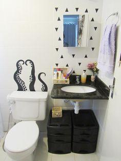 Veja como fazer adesivo de parede para banheiro de maneira simples e com um resultado encantador! Confira!