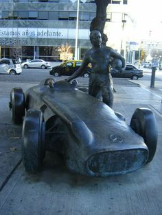 El maestro J. M. Fangio.