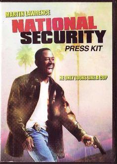 National Security CD Movie Press Kit Martin Lawrence Steve Zahn