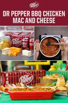 Make this ultimate Dr Pepper BBQ Chicken Mac and Cheese ASAP and thank us later. In Partnership with Tasty. I Love Food, Good Food, Yummy Food, Tasty Mac And Cheese, Dr Pepper, Bbq Chicken, How To Cook Pasta, Food To Make, Food Porn