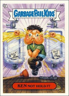 garbage pail kids | Garbage Pail Kids All-New Series 2 (Scratch 'n Stink Subset) S6b-A by ...