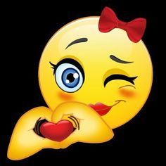 The most exciting emoji, beautiful and cute to send someone amazing Animated Smiley Faces, Funny Emoji Faces, Emoticon Faces, Animated Emoticons, Funny Emoticons, Smileys, Smiley Emoji, Kiss Emoji, Love Smiley
