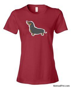 Dean : Women's Dachshund T-Shirt