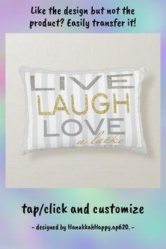 "Hanukkah Pillow ""Live Laugh Love a Latke"" - tap to personalize and get yours #chanukah, #hanukkah, #chanukah #pillow, #hanukkah Soft Pillows, Accent Pillows, Bed Pillows, Stop And Shop, Festival Lights, Live Laugh Love, Menorah, Artwork Design, Hand Sanitizer"