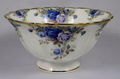 "Royal Albert Moonlight Rose Footed Candy Dish, 6½"" x 3-1/8"" tall. $39.75 at vintagetabletop on ebay, 8/5/15"