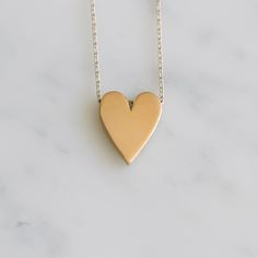 Gold Bits Heart of Hearts Necklace - Honey & Bloom