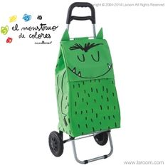 Ara el Monstre de Colors pot ajudar-te a carregar la compra, a més de les teves emocions…  Ahora el Monstruo de Colores puede ayudarte a cargar la compra, además de tus emociones…  www.annallenas.com