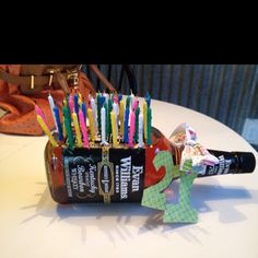 My baby girl would think this would be hilarious and Perfect gift for her 21st....maybe different kind of liquor