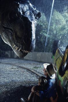 Jurrasic Park ~ this movie scared me to pieces!  <3