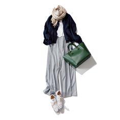 春こそスニーカー通勤!40代におすすめの上品スニーカーコーデ10選|Marisol ONLINE|女っぷり上々!40代をもっとキレイに。