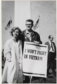 March for peace (Washington, D.C. I won't fight in Vietnam